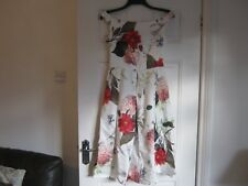 ASOS dress,size 10, beautiful flower print, Special occasion, wedding, prom, NEW