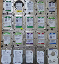20x DEFEKTE Festplatten OHNE PCB Controller 3,5 Zoll bis 3 TB WD Seagate Maxtor