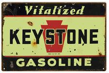 Reproduction Keystone Gasoline Sign