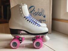 Riedell Custom Outdoor Roller Skates w/Radar Energy 78A Wheels, W 5 (Moxi Maker)