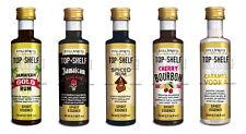 5 Still Spirits Top Shelf Stillspirits Alcohol Flavouring Choose 5 from 24 Types