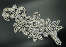 beautiful Trimming Motif hand Sewing  Bridal Dress belt Clothes Appliques
