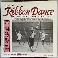 """JOHNNY PEARSON & TED ROUMBANIS chinese ribbon dance 10"""" Mint- w/12 Instructions"""