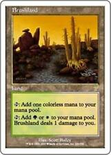 BRUSHLAND Seventh Edition MTG Land RARE