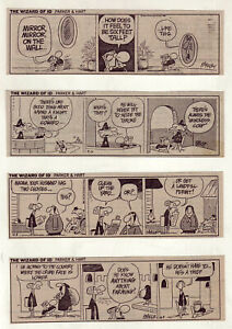 The Wizard of Id by Brant Parker - 21 daily comic strips from Jan. / April 1986