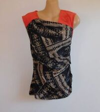 Country Road Geometric Sleeveless Tops & Blouses for Women