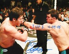 Forrest Griffin Stephan Bonnar Signed 11x14 Photo BAS COA UFC Ultimate Fighter 5