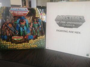 Fighting foe men. Motuc. Neuf. Master of the universe.