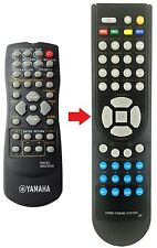 Télécommande de remplacement adapté pour yamaha pour rx-v357/rxv357