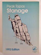 Stanage Topo (Peak Topo Guidebooks S.) Paperback 1993 Edition