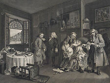 Marriage à-la-mode - Death of the Countess- Hogarth -National Gallery 1836
