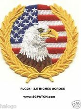 USA EAGLE FLAG PATCH - FLG24
