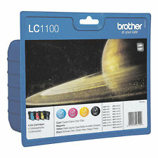 Brother LC 1100 valbpdr valuepack 4 pat. dcp-385c dcp-395cn dcp-585cw dcp-j715w