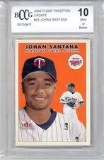 2000 Fleer Traditional Update Johan Santana (Rookie Card) (#43) BCCG10 BCCG