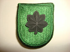 US Army LT COLONEL Rank Metal Badge + 10th SPECIAL FORCES GROUP Beret Patch