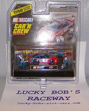 """New listing """"NEW"""" TYCO STP #43 440X2 CAR WITH PIT CREW HO SLOT CAR"""