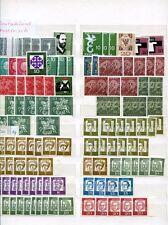 Bund 1960 - 1984 ** Lagerposten von 2100 Marken