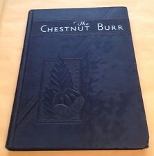 1934 KENT STATE COLLEGE Yearbook in Kent, Ohio - THE CHESTNUT BURR - Good to VG