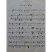 MAGNER Edouard Ma Prière du Soir Piano Chant 1835 partition sheet music score