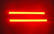 2 Pcs Waterproof Rear RED COB Fog DRL Daytime Running Lights For 4 Wheel Drive