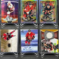 Ottawa Senators 30 Card Rare Insert Lot Lazar Spezza Stone Tkachuk Chabot Turris