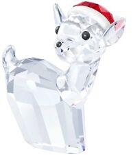 Swarovski . Doe Deer With Christmas Hat . New In Box . 5135853 . Santa Deer