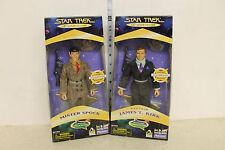 Star Trek A Piece of the Action Figure set of 2 Kirk and Spock