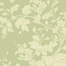 Green Floral Damask  Belle Epoque by Maywood BTY 9875-G fabric