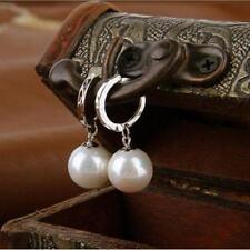 Women Faux Pearl Earrings Ear Drop Jewellery Women Valentine Gifts S3
