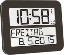 Funk Wanduhr TFA 60.4512.01 258 mm x 212 mm x 30 mm Schwarz