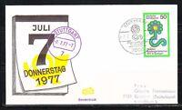 Germany 1977-7.7 event cover Donnerstag Stuttgart Horticultural Show Mi 927