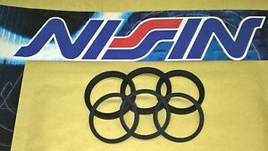kit revisione NISSIN pinza anteriore Honda Foresight 250 Pantheon 125 150 2t 4t
