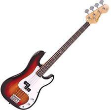 Encore chitarra basso 4 corde sunburst.