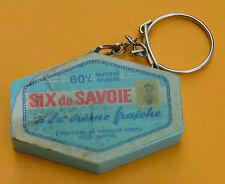 porte clé, années 1960, boîte de fromage Six de Savoie