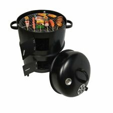 Barbecue Grill Charcoal Stove Round Outdoor Travel Camping Cooking Accessories