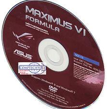 ASUS Maximus VI Formula MOTHERBOARD DRIVERS M3113 WIN 10 DUEL LAYER DISK