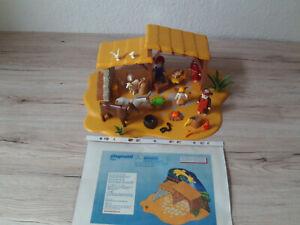 Playmobil Große Krippe mit Stall 4884 guter gebrauchter Zustand