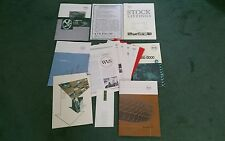 1998 1999 Worldwide Vehicle Supplies UK Portefeuille brochure PORSCHE FERRARI LOTUS