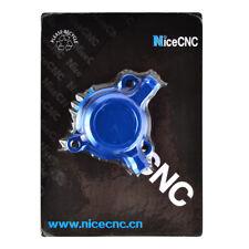 CNC Blue Oil Filter Cover Cap Dirt Bike For Yamaha YZ250F WR250F YZ450F WR450F