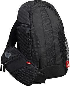 CANON Kameratasche 300EG Rucksack Schutztasche für Spiegelreflexkamera schwarz