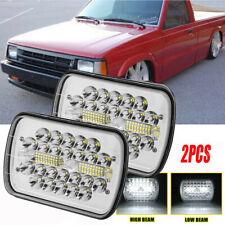 Pair LED Headlight H4 Plug Bulbs LH For 1986-1993 Mazda Pickup B2000 B2200 B2600