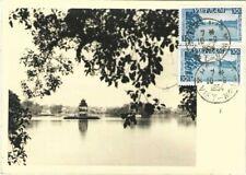 VIETNAM / INDOCHINE /  MAXIMUM CARD 1954 / HANOÏ LE PETIT LAC