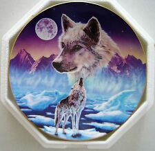 """""""Breaking the Silence"""" plate from The Wilderness Spirit plate collection"""