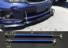 "Blue 4""-7"" Struts Shock Rod Bar for Honda Acura Bumper Lip Diffuser Spoiler"