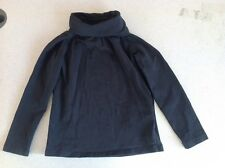H&M Girls Black Long Sleeve Turtle Neck Shirt Top Youth Size 2-4 Years