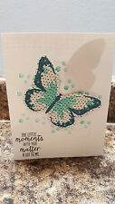 3D Stampin' Up All Occasion Card using Watercolor Wings with pop up Butterflies