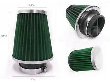 Twin Cone Filtre à air universel 3 ports W155*H130MM 65 Mm Id Cou Noir