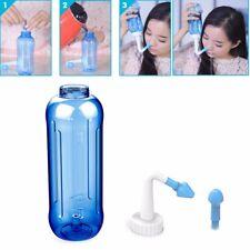 Children Adults Neti Pot Nasal Nose Wash Detox Yoga Sinus Allergies Relief Rinse