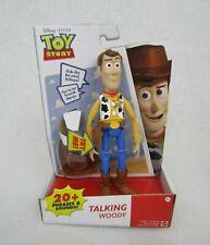 Mattel Disney Pixar Toy Story Sheriff Woody Talking Action Figure New