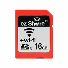 Wi-Fi Wireless SDHC 16GB Class 10 SD Memory Card for Eye Fi Transcend Ez Share